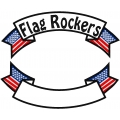 USA FLAG BANNER ROCKER