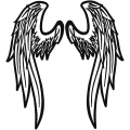 REFLECTIVE ANGEL WINGS  2