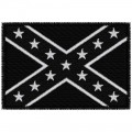 CONFEDERATE  FLAG  B/W