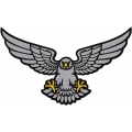 REFLECTIVE FLYING EAGLE PATCH