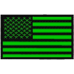 FLAG REFLECTIVE PATCH