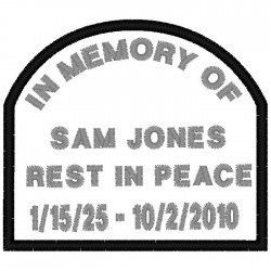 TOMB STONE MEMORY PATCH