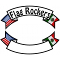 USA & MEXICO BANNER ROCKER