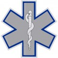 STAR OF LIFE REFLECTIVE