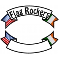 USA & IRELAND  BANNER ROCKER