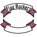CONFEDERATE BANNER ROCKER